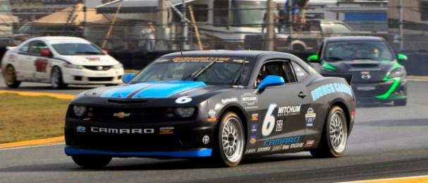 Inaugural Grand-Am 200 Challenge winner Aaron Steele drove for Mitchum Motorsports at Daytona in January (Photo Credit: Sunoco)