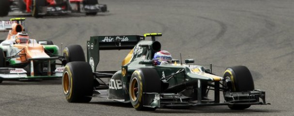 Vitaly Petrov - Photo Credit: Caterham F1 Team