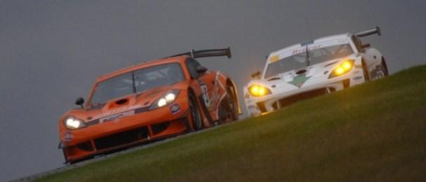 Team LNT's orange Ginetta G55 won the three hour race (Photo Credit: Chris Gurton Photography)