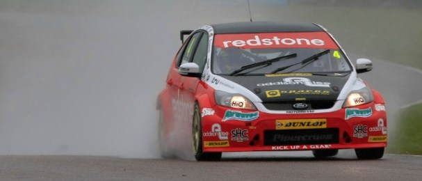 Mat Jackson was spared a restart by a stranded recovery truck (Photo Credit: btcc.net)