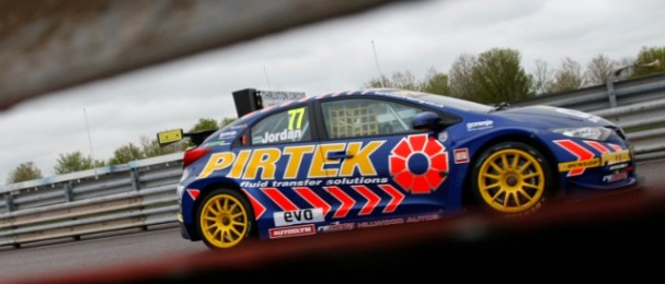 Andrew Jordan secured his second career BTCC pole position (Photo Credit: btcc.net)
