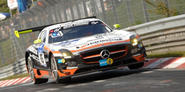 Hankook Team Heico Mercedes SLS (Photo Credit: Chris Gurton Photography)