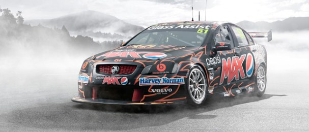 David Russell to drive the new-look Pepsi Max Crew Commodore in Darwin Photo credit: Kelly Racing