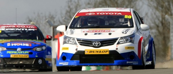 Tony Hughes scored points for Speedworks in all three of the weekend's races (Photo Credit: btcc.net)
