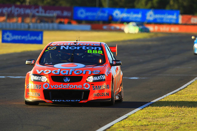 Craig Lowndes completes a clean sweep of the Ipswich 300 Photo credit: TeamVodafone