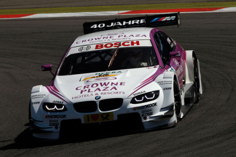 Andy Priaulx, one for four DTM rookies for BMW this year (Photo Credit: BMW AG)