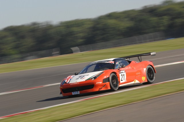 Fresh tyres helped Matt Griffin to top the first free practice at Silverstone (Photo Credit: Chris Gurton Photography)