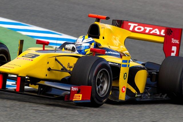 Marcus Ericsson - Photo Credit: Malcolm Griffiths/GP2 Series Media Service