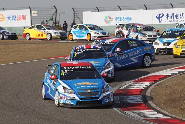 Alain Menu - Photo Credit: FIA WTCC