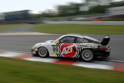 A maiden class win on the Brands Hatch Indy circuit sent the Strata 21 team on the way to the championship (Photo Credit: Chris Gurton Photography)