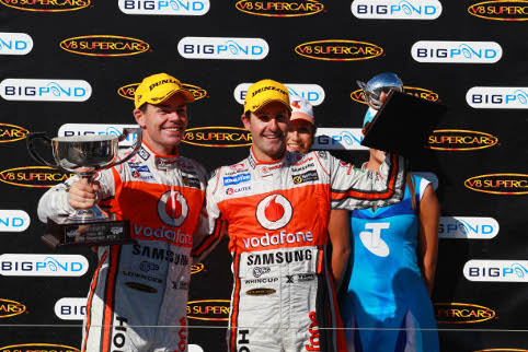 Jamie Whincup and Craig Lowndes were the men to beat in V8 Supercars (Photo Credit: Team Vodafone)
