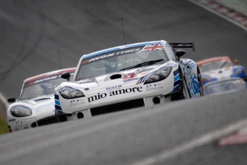 Too often in 2012 the G55 GT3 struggled for reliability (Photo Credit: Chris Gurton Photography)