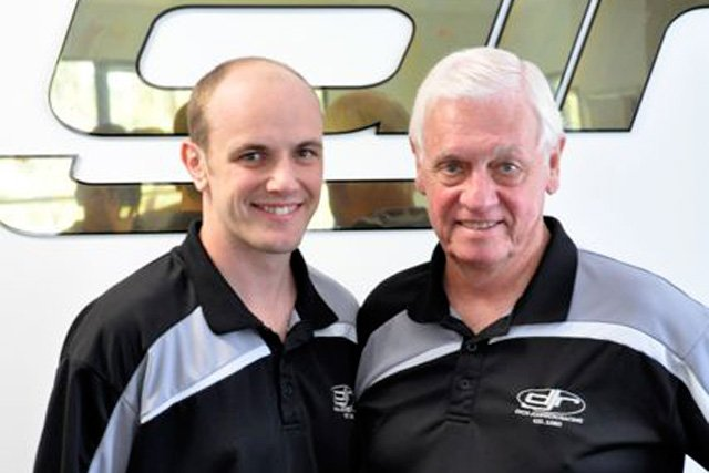 Tim Blanchard and Dick Johnson