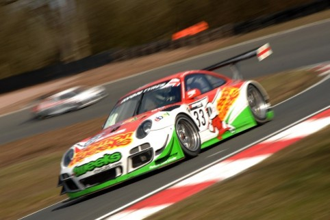 Phil Keen lead the Trackspeed Porsche dominated early part of the session (Photo Credit: Chris Gurton Photography)