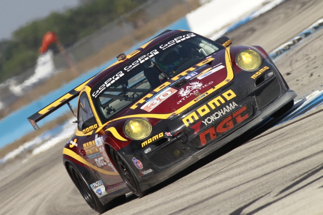 Edwards' #30 completed the class podium (Photo Credit: Porsche North America)
