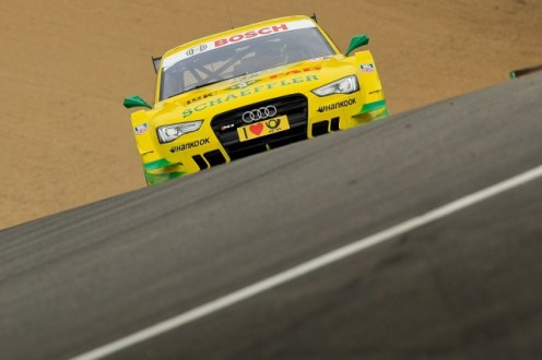 Rockenfeller riding the rollercoaster ride that is Brands Hatch (Image credit: Octane Photographic/Chris Enion)