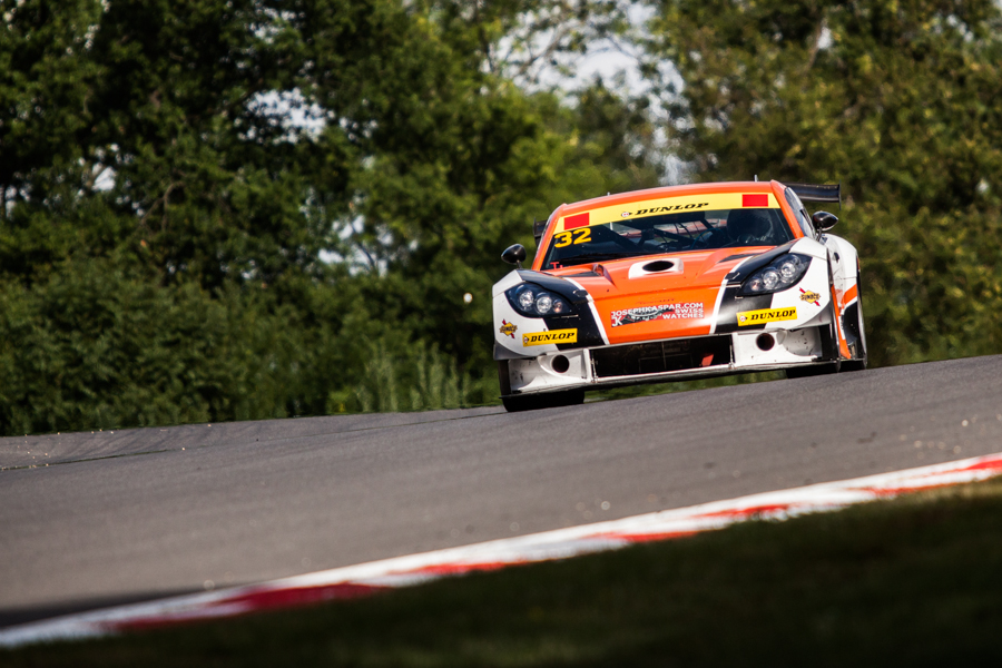 Ginetta's duo saw off opposition from a strengthened BEC grid (Photo Credit: Tom Loomes)