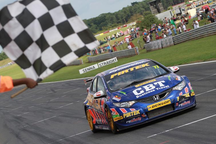 Andrew Jordan 2013 Snetterton win