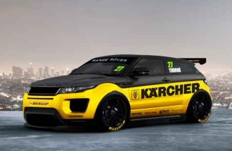 The team drew up plans for an NGTC Range Rover Evoque (Photo: Thorney Motorsport)