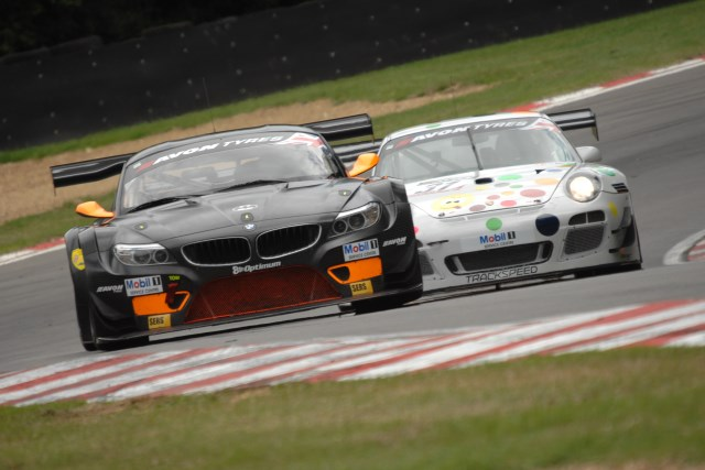 Osborne beat Tandy to the top time in the session (Credit: Chris Gurton Photography)