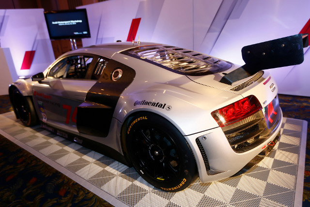 Paul Miller Racing are one of three team set to run Audis in the GTD team of of the United SportsCar Championship (Credit: Audi Motorsport)