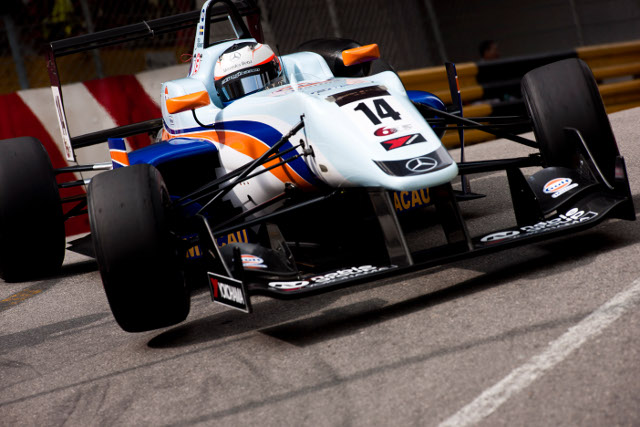 Rosenqvist mastered the streets of Macau for pole (Credit: CGPM)