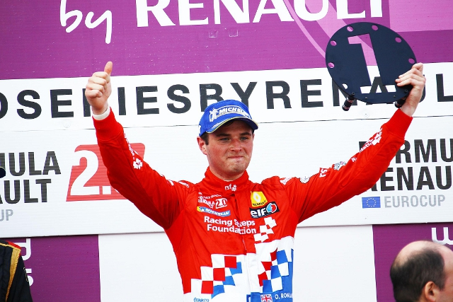Rowland will move into Formula Renault 3.5 (Credit: Racing Steps Foundation)