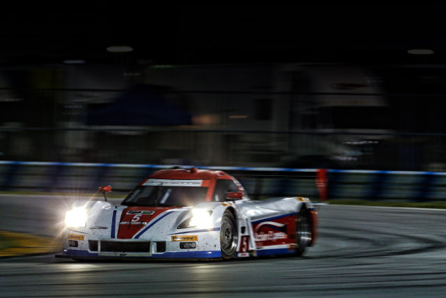 Christian Fittipaldi gave Action Express the best time of the Roar Before the 24 test (Courtesy of IMSA)