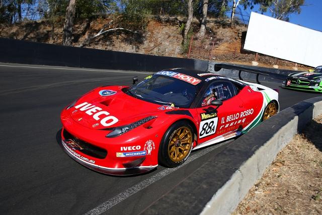 The Maranello Motorsport team delivered Ferrari's first Bathurst 12 Hours win (Credit: Race Torque Media)