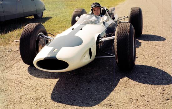 John Surtees, 1964 (Credit: Ferrari)