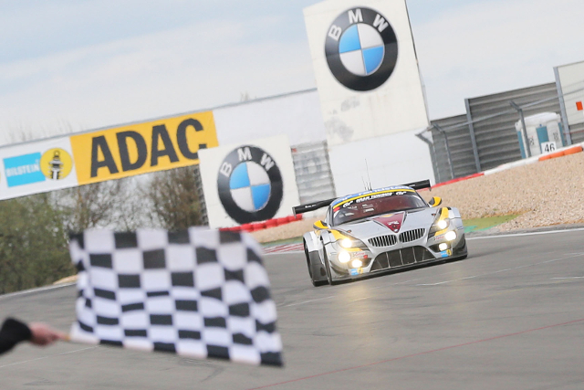 Z4 GT3s filled the first four spots at the end of six hours (Credit: ADAC Zurich Nurburgring 24 Hours)
