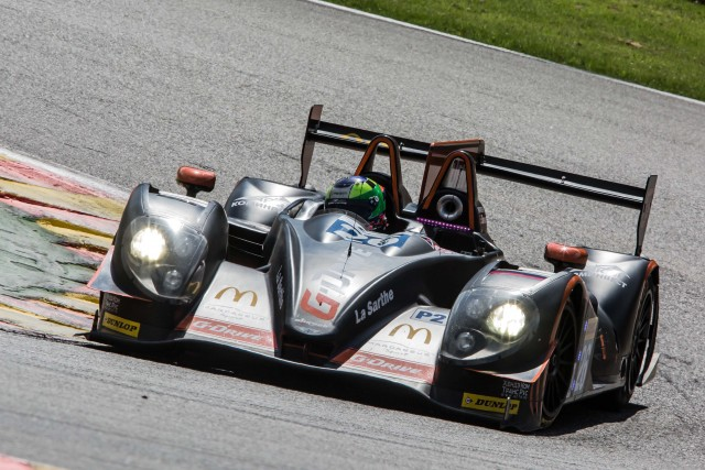 Roman Rusinov (RUS) / Olivier Pla (FRA) / Julien Canal (FRA) driving the #26 LMP2 G-Drive Racing (RUS) Morgan-Nissan