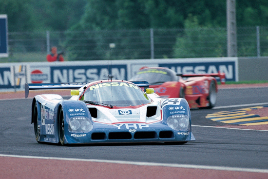 Four R90CK raced at Le Mans in 1990, but the Japanese built R90CP took the best result (Credit: Nissan Motorsports)