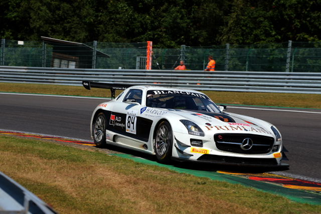 A strong test day has bolstered Primat's hopes of the 24 Hours podium (Credit: HTP Motorsport)