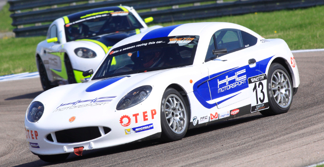 One Point Separates Kellett (Front) And Norris (Back) In Fight For Second - Credit: Jakob Ebrey Photography