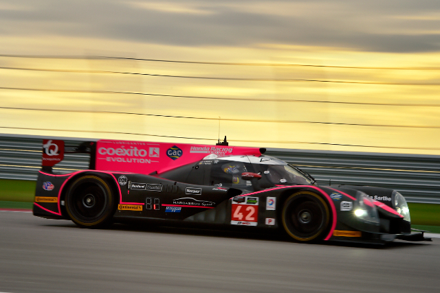 Brundle kept the OAK Racing Ligier atop the times in the final practuce session (Courtesy of IMSA)