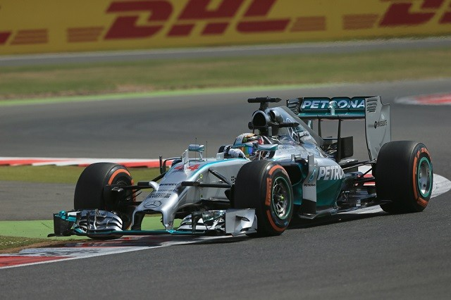 Lewis Hamilton took victory in front of his Silverstone fans (Credit: Octane Photographic Ltd)