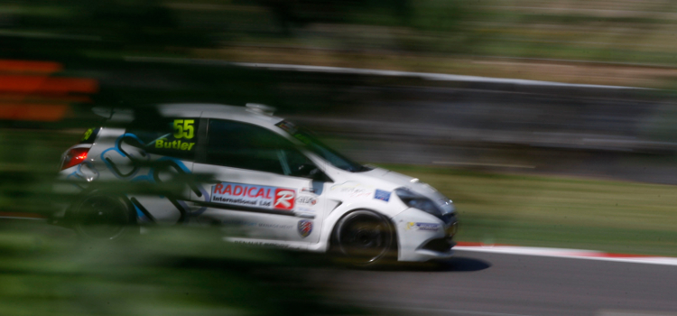 Butler Showed Some Strong Pace In The Third-Generation Clio - Credit: Jakob Ebrey Photography