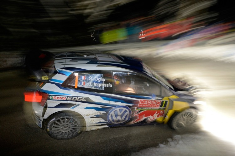 Tough day at the office for the reigning world champion - Photo: Volkswagen Motorsport