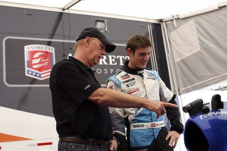 Geoff and Matthew Brabham together during 2013 (Credit: Dustin Worles/Flickr)