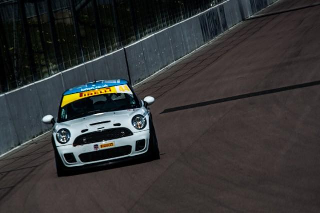 Lohen Racing's MINI Cooper ran well until a mid race retirement.