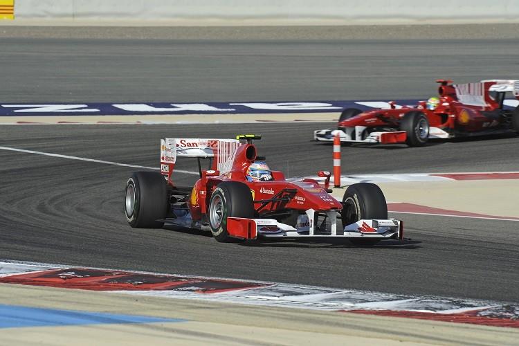 Fernando Alonso won for Ferrari in his first race for the team (Credit: Scuderia Ferrari Media)