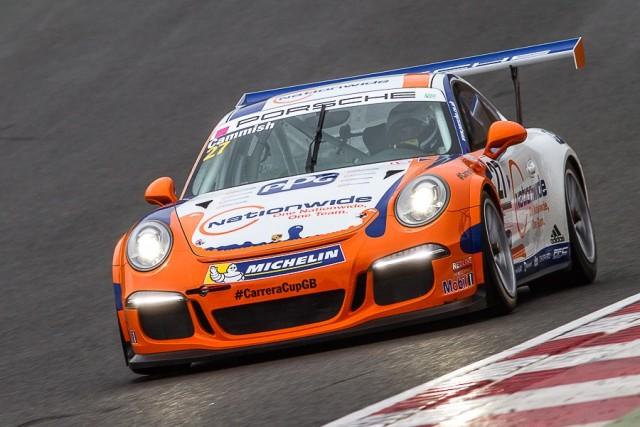Cammish: Catch him if you can (Credit: Porsche Media GB)