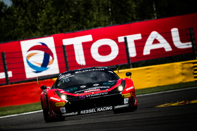 Andrea Piccini confirmed Kessel Racing as Pro Am Cup polesitters (Credit: Tom Loomes Photography)