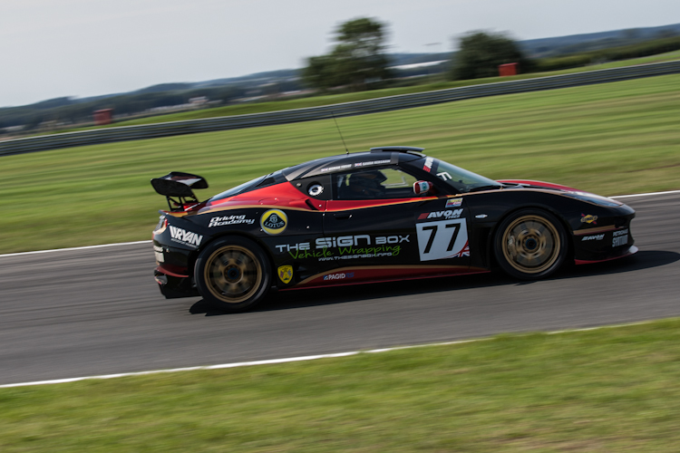 The ISSY Racing Lotus once again proved better than their GT4 rivals (Credit: Nick Smith/TheImageTeam.com)