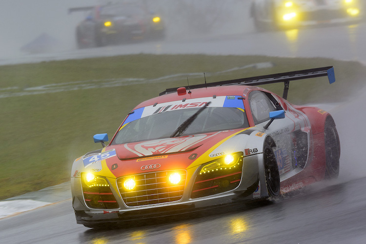 Flying Lizard Motorsports enlisted an all-American lineup including Thompson for Petit Le Mans (Credit: Bob Chapman/Autosport Image)