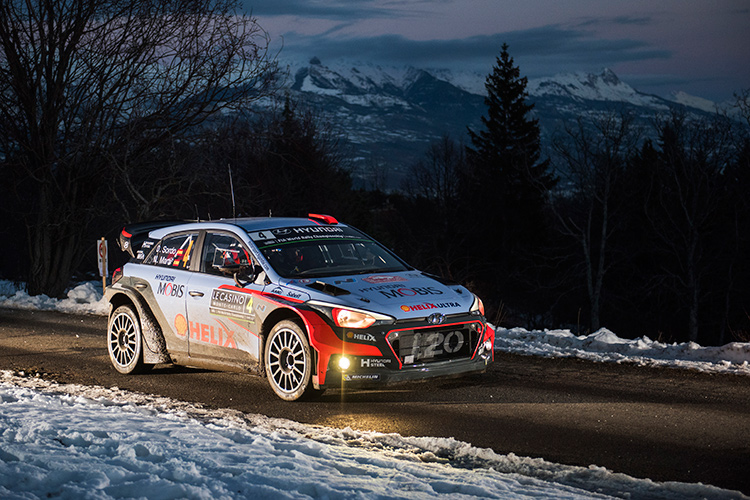 New generation Hyundai i20 WRC makes its début this weekend - Credit: Jaanus Ree/Red Bull Content Pool