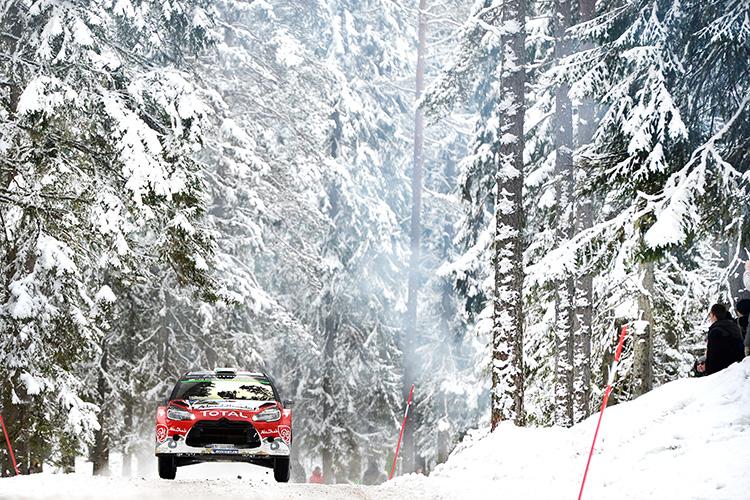 Craig Breen led the Citroen effort on his debut in WRC. (Credit: Citroen Motorsport Media)