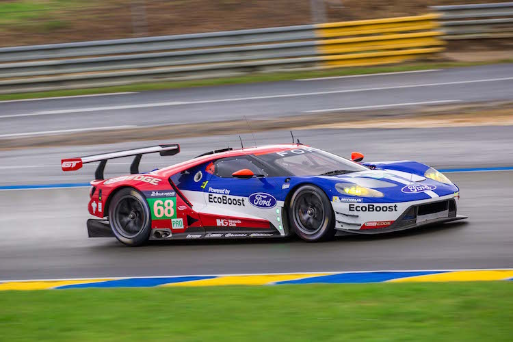 The Ford GT of Ford Chip Ganassi Team USA finished GTE Pro on top (Credit: Craig Robertson/SpeedChills.com)
