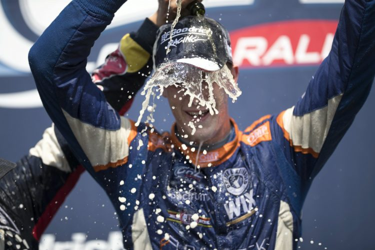 Cabot Bigham won the Red Bull GRC Lites final and the championship - Credit: /Red Bull Global Rallycross